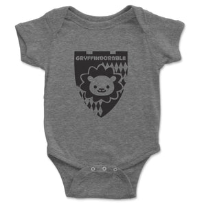 Gryffindorable Baby Onesie - Brain Juice Tees