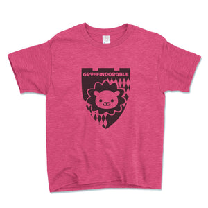 Gryffindorable Unisex Toddler Shirt - Brain Juice Tees
