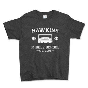 Hawkins Middle School AV Club Unisex Toddler Shirt - Brain Juice Tees