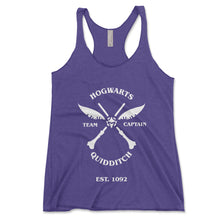 Load image into Gallery viewer, Quidditch Team Captain Women's Tanktop - Brain Juice Tees