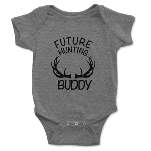 Future Hunting Buddy Baby Onesie - Brain Juice Tees