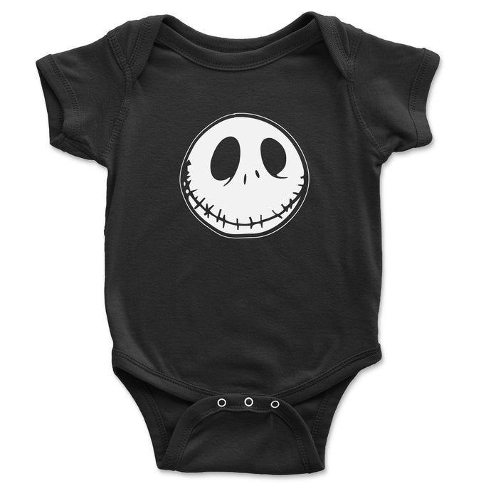 Jack Skellington Baby Onesie - Brain Juice Tees