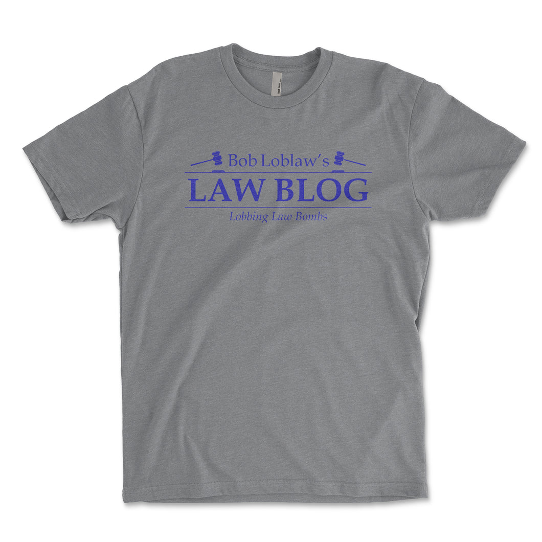 Bob Loblaw's Law Blog Arrested Development Mens Shirt - Brain Juice Tees