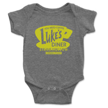 Load image into Gallery viewer, Luke's Diner Baby Onesie - Brain Juice Tees