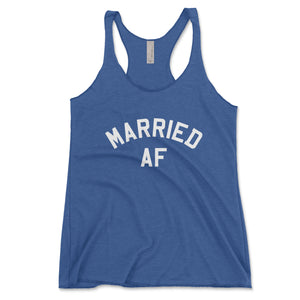 Married AF Women's Tanktop - Brain Juice Tees
