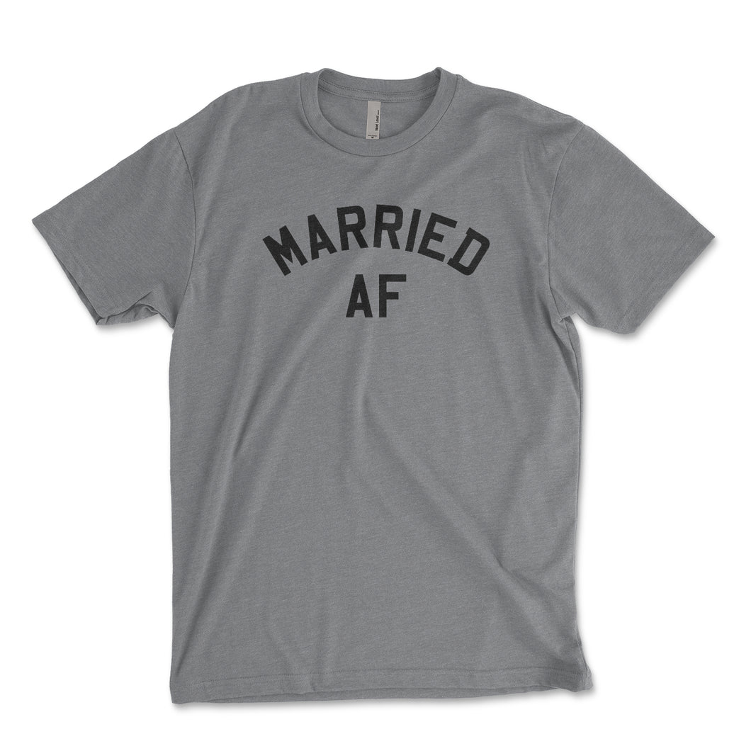 Married AF Men's Shirt - Brain Juice Tees
