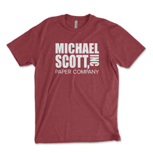 Load image into Gallery viewer, Michael Scott Paper Company Men's Shirt - Brain Juice Tees