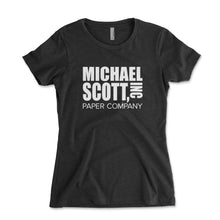 Load image into Gallery viewer, Michael Scott Paper Company Women's Shirt - Brain Juice Tees