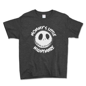 Mommy's Little Nightmare Unisex Toddler Shirt - Brain Juice Tees