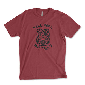 Take Naps Not Drugs Men's Shirt - Brain Juice Tees