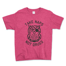 Load image into Gallery viewer, Take Naps Not Drugs Unisex Toddler Shirt - Brain Juice Tees