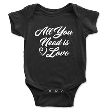 Load image into Gallery viewer, All You Need Is Love Baby Onesie - Brain Juice Tees