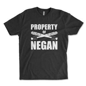Property Of Negan Men's Shirt - Brain Juice Tees