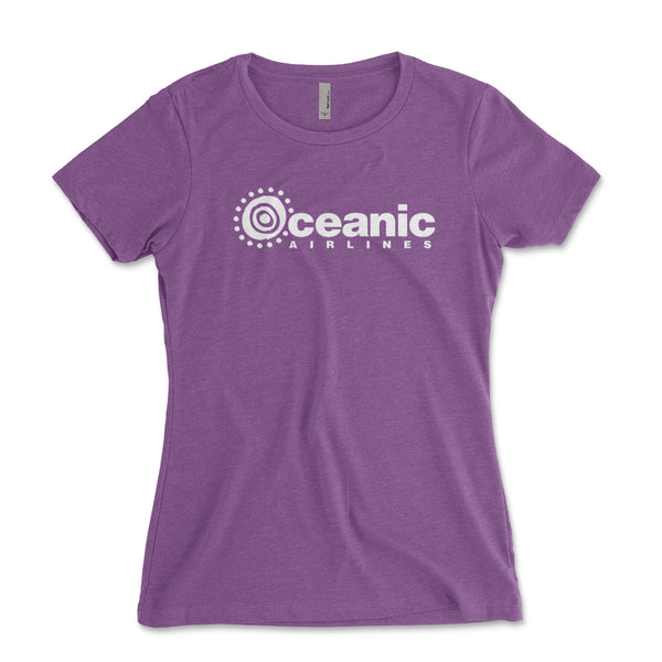 Oceanic Airlines LOST Womens Junior Fit Shirt - Brain Juice Tees