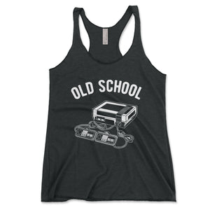 Old School Video Game Women's Tanktop