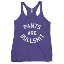 Load image into Gallery viewer, Pants Are Bullshit Women's Tanktop - Brain Juice Tees