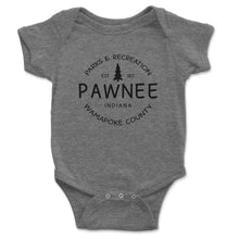 Load image into Gallery viewer, Pawnee Parks And Recreation Baby Onesie - Brain Juice Tees