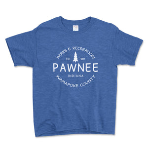 Pawnee Parks And Recreation Unisex Toddler Shirt - Brain Juice Tees