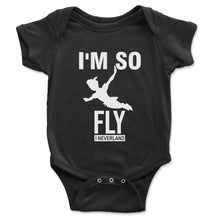 Load image into Gallery viewer, I'm So Fly I Neverland Baby Onesie - Brain Juice Tees