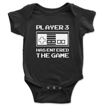 Load image into Gallery viewer, Player 3 Has Entered The Game Baby Onesie