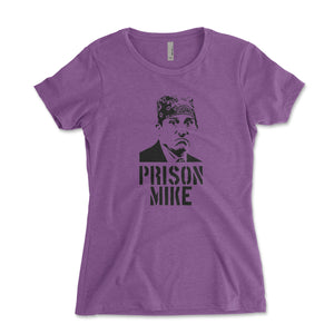 Prison Mike Women's Shirt - Brain Juice Tees