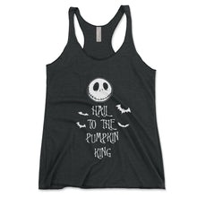 Load image into Gallery viewer, Hail To The Pumpkin King Women's Tanktop - Brain Juice Tees