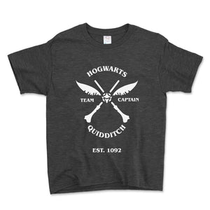 Quidditch Team Captain Unisex Toddler Shirt - Brain Juice Tees