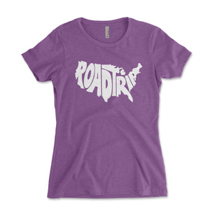 Road Trip Women's Shirt - Brain Juice Tees