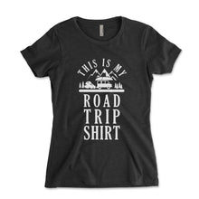 Load image into Gallery viewer, This Is My Road Trip Shirt Womens Junior Fit Shirt - Brain Juice Tees