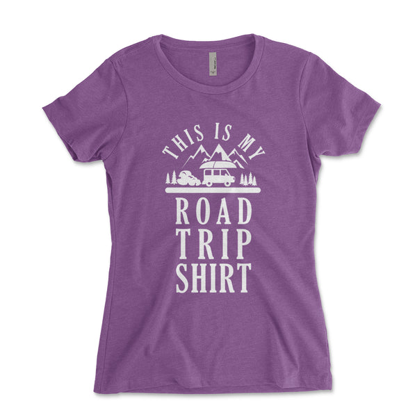 Road Trip United States Women's Racerback Tanktop - Brain Juice Tees