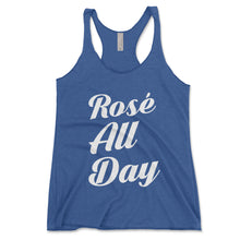 Load image into Gallery viewer, Rosé All Day Women's Tank Top - Brain Juice Tees