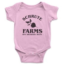Load image into Gallery viewer, Schrute Farms Bed And Breakfast Baby Onesie - Brain Juice Tees