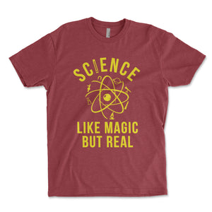 Science Like Magic But Real Men's Shirt