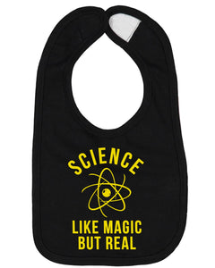 Science Like Magic But Real Baby Bib