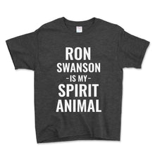 Load image into Gallery viewer, Ron Swanson Is My Spirit Animal Unisex Toddler Shirt - Brain Juice Tees