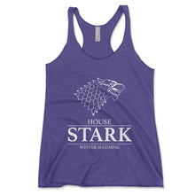 Load image into Gallery viewer, House Stark Winter Is Coming Women's Tank Top - Brain Juice Tees