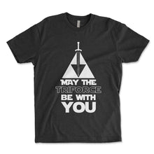 Load image into Gallery viewer, May The Triforce Be With You Men's Shirt - Brain Juice Tees