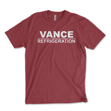 Load image into Gallery viewer, Vance Refrigeration Men's Shirt - Brain Juice Tees