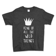 Load image into Gallery viewer, King Of All The Wild Things Unisex Toddler Shirt - Brain Juice Tees