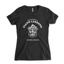 Load image into Gallery viewer, One Eyed Willy's Piano Lessons Women's Shirt - Brain Juice Tees