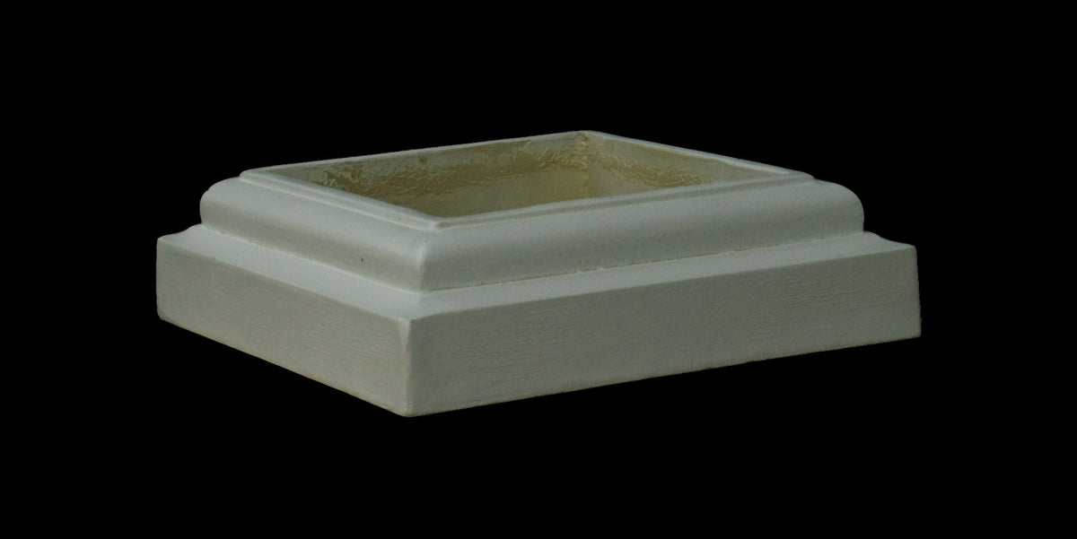 Doric Square Column Base 7""