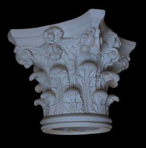 Corinthian Column Capital 10""