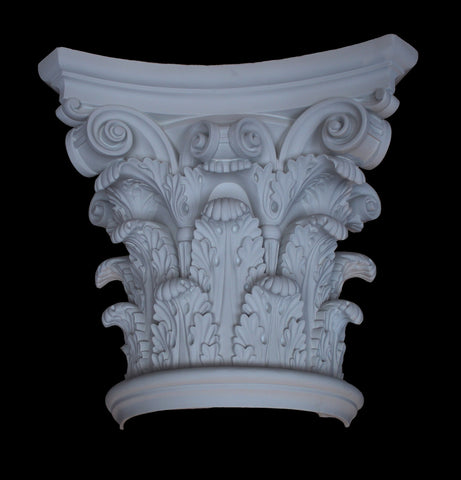 Corinthian Column Capital 16""