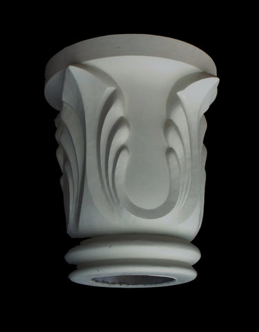Leaf Column Capital 8""