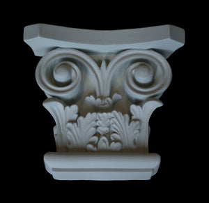 Leaf Flat Pilaster Capital 5""