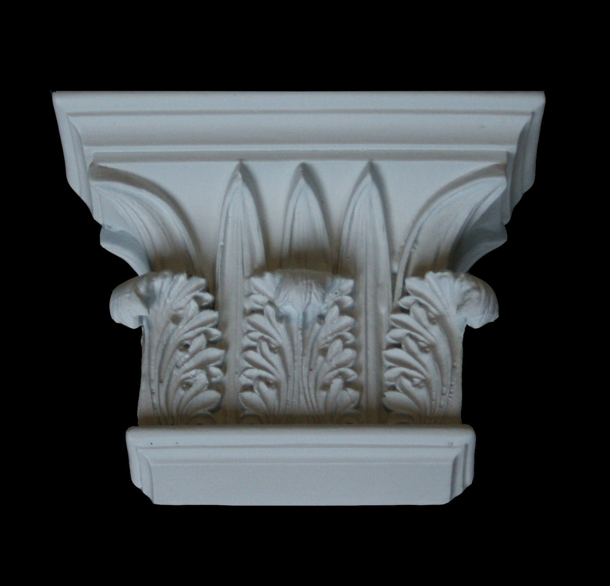 Leaf Flat Pilaster Capital 4""