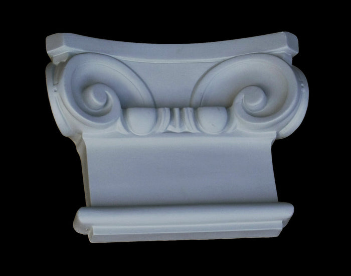 Leaf Flat Pilaster Capital 7-1/2""