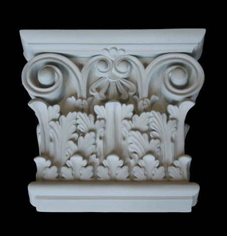 Leaf Flat Pilaster Capital 8-1/2""