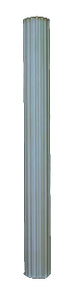 "COL-12""×8' High Fluted"
