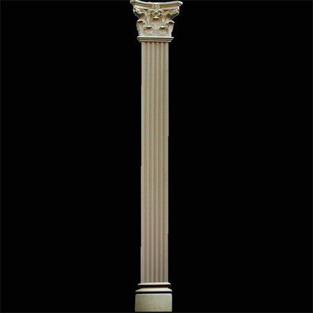 Flat Fluted Pilaster 101